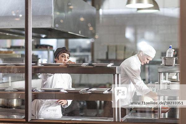Küchenchefs in der Restaurantküche