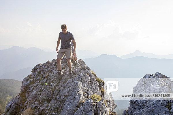 Berg Berggipfel Gipfel Spitze Spitzen jung