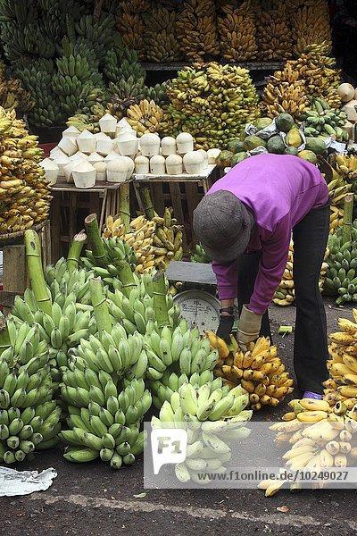 Blumenmarkt Banane Markt