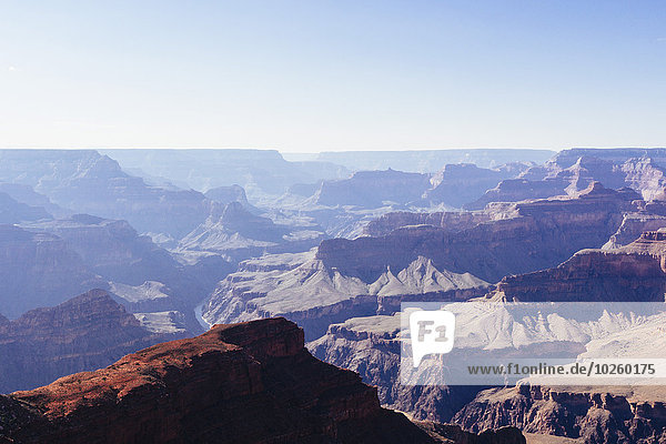 Grand Canyon Nationalpark gegen klaren Himmel