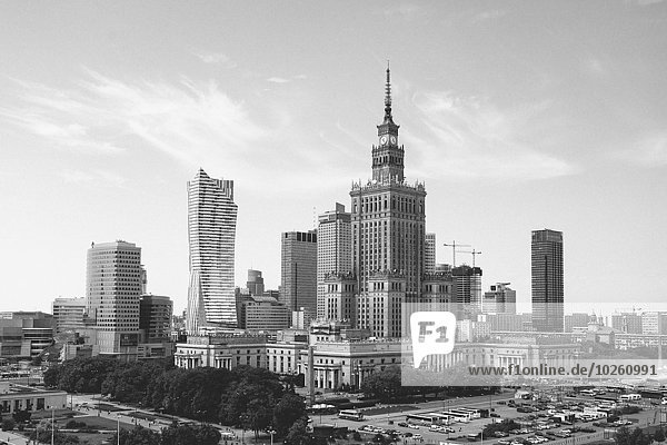 Palast der Kultur und Wissenschaft in Warschau