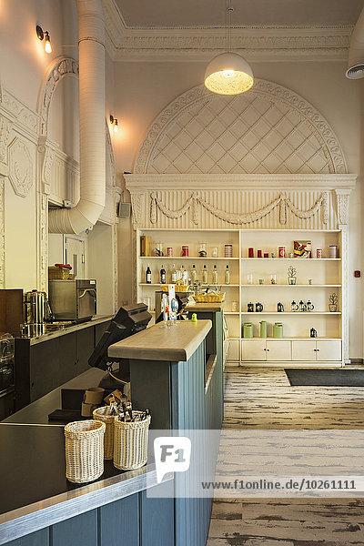 Interieur des Cafés