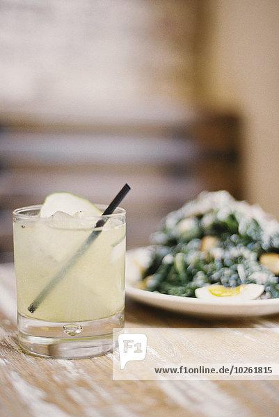 gekocht Glas Gemüse Teller kochen Kälte Limonade Weichheit