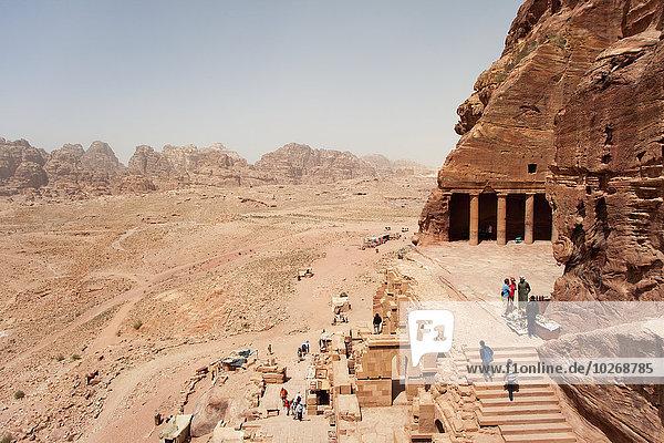 Anschnitt Monarchie Katakombe Petra