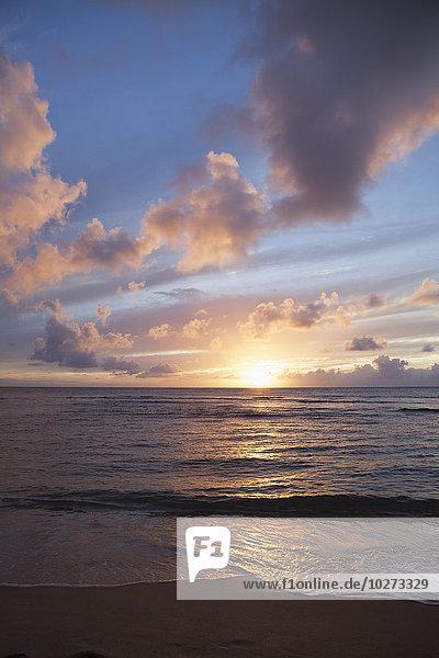 Amerika Strand Verbindung Hawaii Kauai