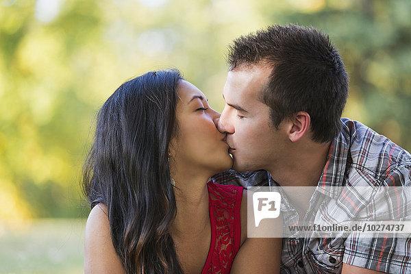 küssen mischen Herbst Mixed
