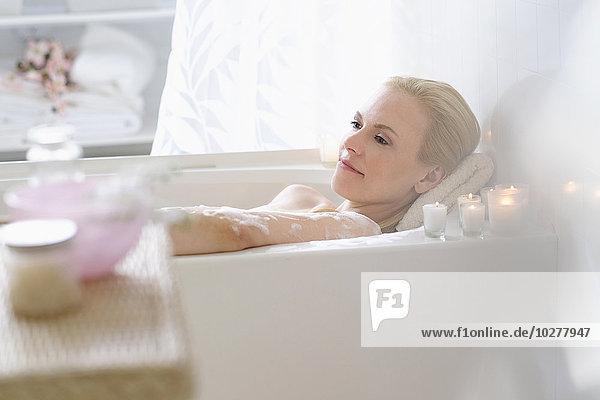 Frau Entspannung