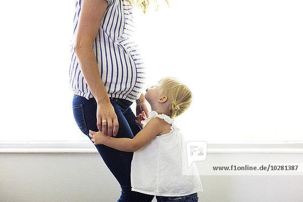 Schwangerschaft Tochter Mutter - Mensch