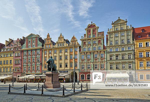 Marktplatz  Großer Ring  Breslau  Polen  Europa