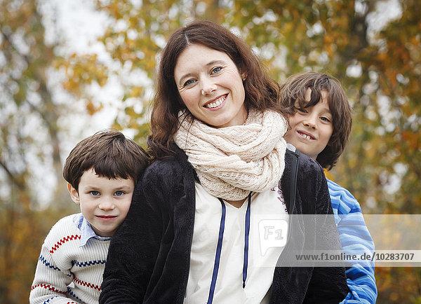 Portrait Sohn 2 Mutter - Mensch