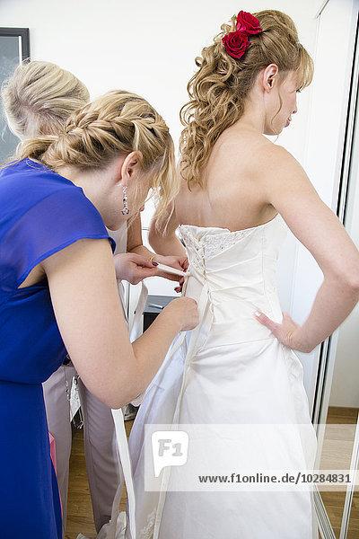 Braut Hochzeit Vorbereitung