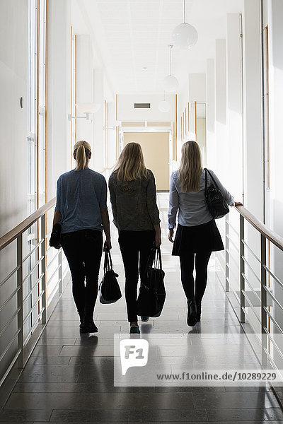 Schweden  Vastra Gotaland  Göteborg  School of Business  Economics and Law  Junge Frauen an der Universität