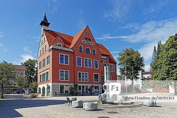 Rathaus  Lindenberg  Baden-Württemberg  Deutschland  Europa