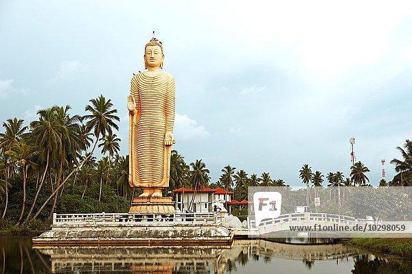 Denkmal für die japanischen Tsunami Opfer 2004  Peraliya  Südprovinz  Ceylon  Sri Lanka  Asien