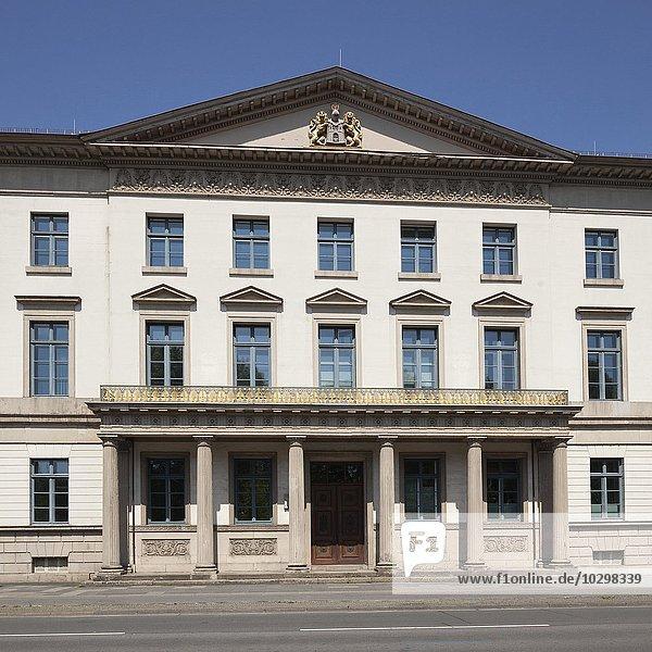 Wangenheimpalais  Niedersächsisches Wirtschaftsministerium  Hannover  Niedersachsen  Deutschland  Europa