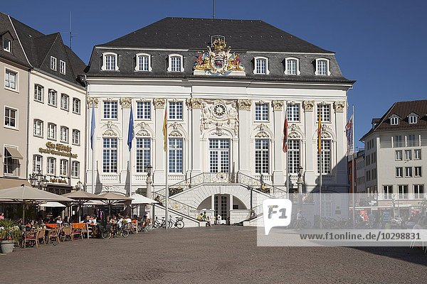 Altes Rathaus  Bonn  Rheinland  Nordrhein-Westfalen  Deutschland  Europa
