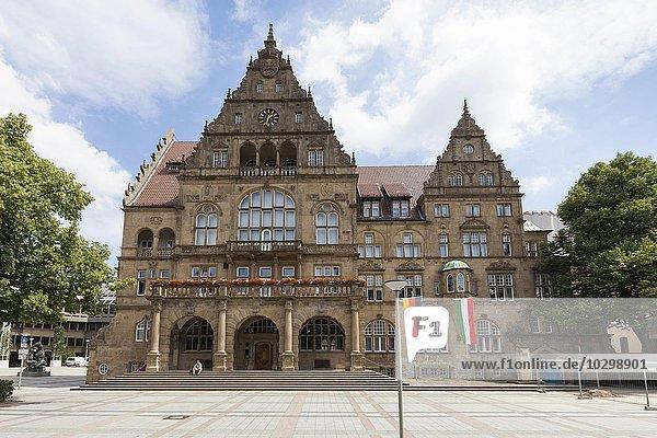 Altes Rathaus  Bielefeld  Nordrhein-Westfalen  Deutschland  Europa