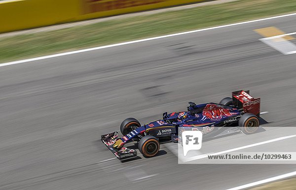 Rennwagen Team Red Bull  Formel 1 Autorennen  Barcelona  Spanien  Europa