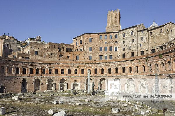 Trajansforum  Rom  Latium  Italien  Europa
