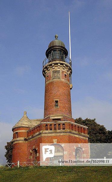 Historischer Leuchtturm  Holtenau  Kiel  Schleswig-Holstein  Deutschland  Europa