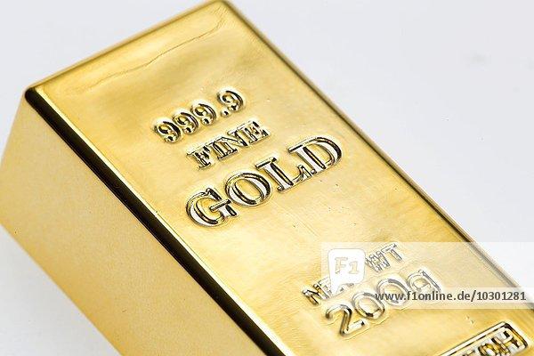 200 g Goldbarren  999 9 Feingold