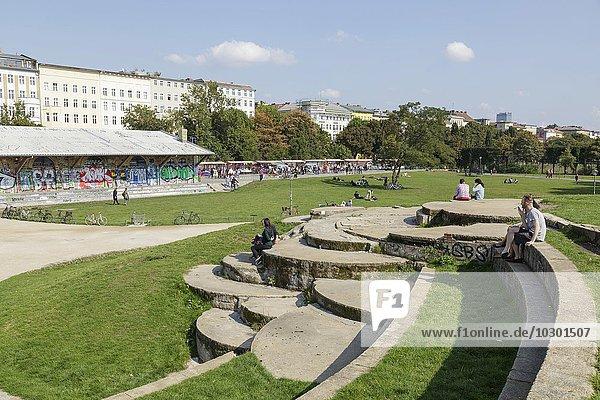 Görlitzer Park  Kreuzberg  Berlin  Deutschland  Europa