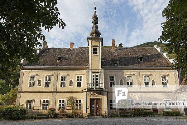 Historischer Erlahof  heute Schifffahrtsmuseum  Spitz an der Donau  Wachau  Waldviertel  Niederösterreich  Österreich  Europa