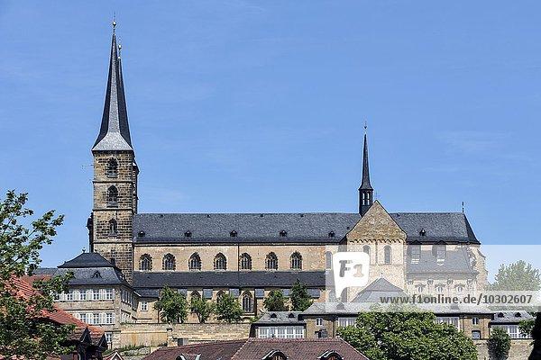 Ehemalige Benediktinerabtei St. Michael  heute städtisches Altersheim  Bamberg  Oberfranken  Bayern  Deutschland  Europa