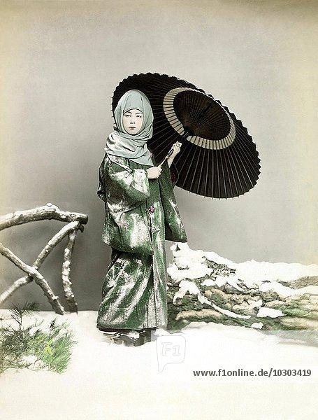 Schneekostüm  Japan  Asien