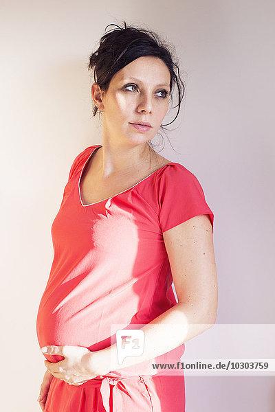 Schwangere Frau  Portrait