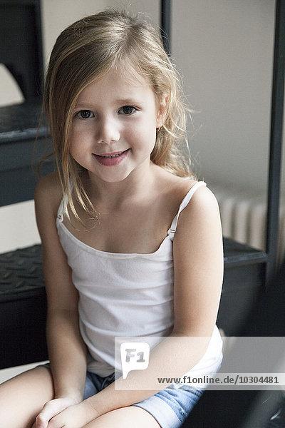 Kleines Mädchen  Portrait