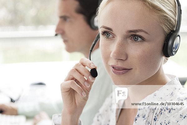 Call-Center-Betreiber bieten täglichen Kundenservice