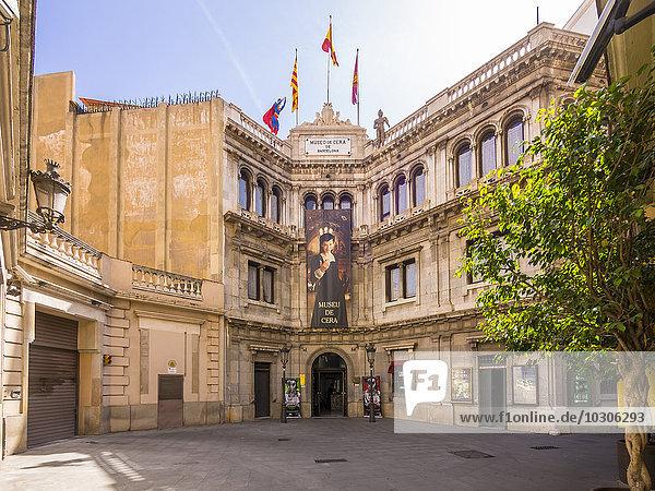 Spain  Barcelona  Waxworks museum  Museu de Cera