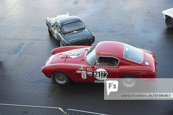 Germany  Nurburgring  Ferrari 250 SWB Competition and Triumph Spitfire