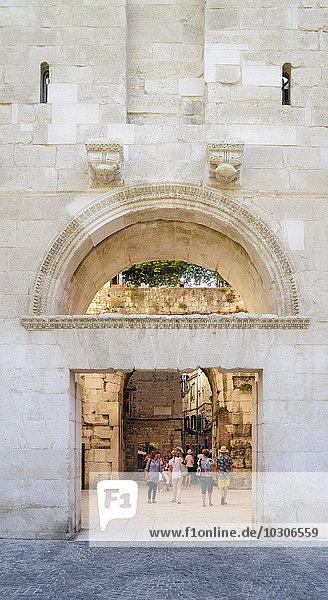 Croatia  Split  North Gate  Golden Gate  Porta Aurea