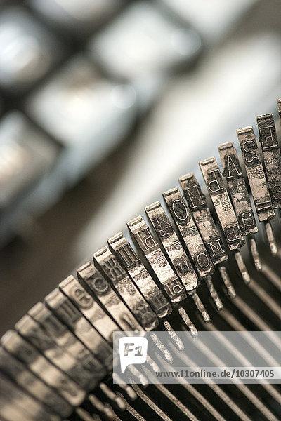Schreibstange einer Schreibmaschine