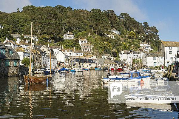 Vereinigtes Königreich  England  Cornwall  Polperro  Harbour