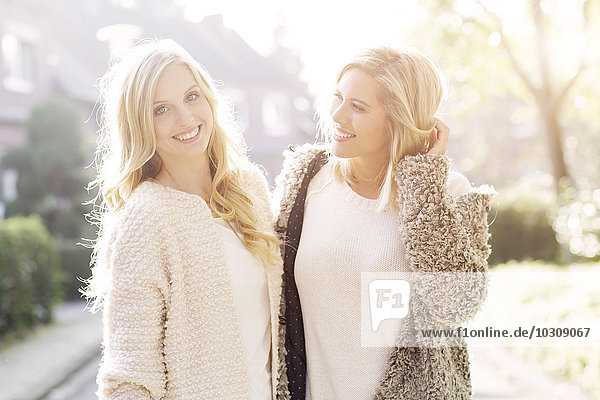 Two female friend spending time together