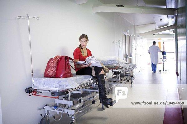 HOSPITAL WAITING