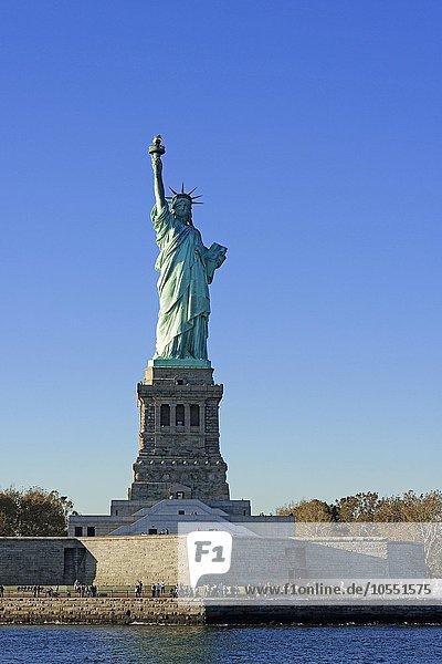 Freiheitsstatue  Liberty Island  Manhattan  New York City  New York  USA  Nordamerika