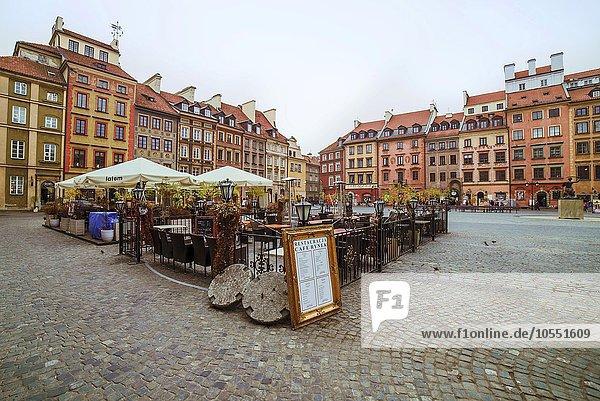 Altstädtischer Markt  Rynek Starego Miasta  UNESCO Weltkulturerbe  Warschau  Woiwodschaft Masowien  Polen  Europa