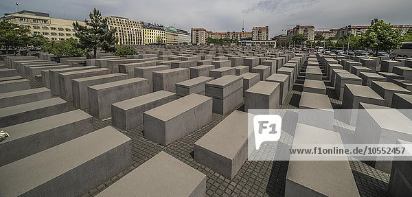 Holocaust-Mahnmal  Architekt Peter Eisenmann  Berlin  Deutschland  Europa