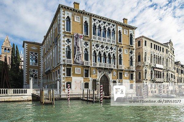 Palazzo Cavalli-Franchetti  Canal Grande  San Marco  Cannaregio  Venedig  Veneto  Italien  Europa