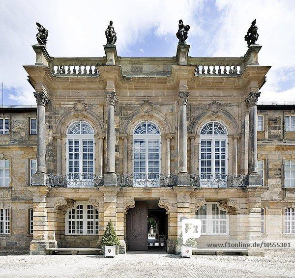 Neues Schloss  Bayreuth  Oberfranken  Bayern  Deutschland  Europa