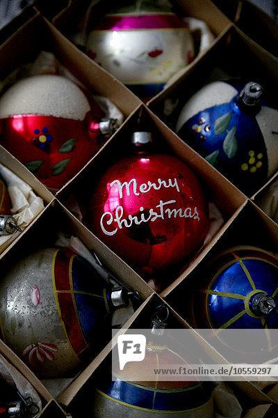 Close-up Weihnachten Dekoration
