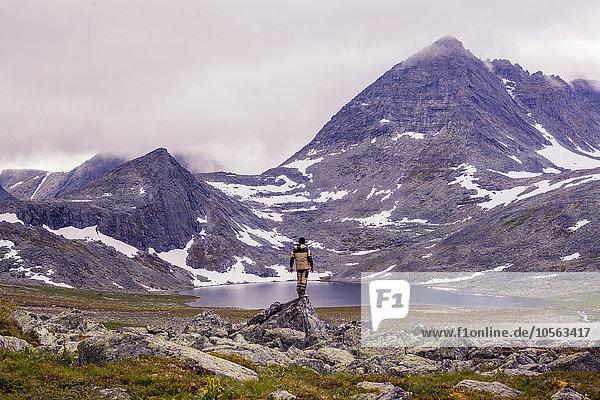 Berg Bewunderung wandern