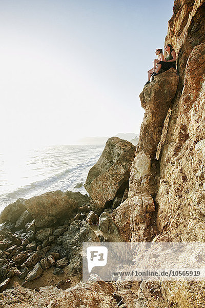 Frau Anordnung klettern