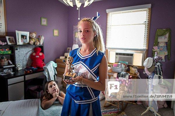 halten Schlafzimmer Cheerleader Pokal