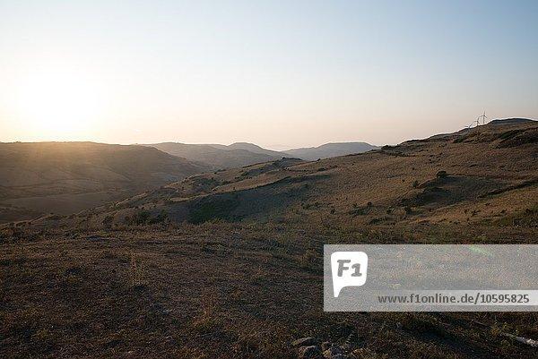 Robuste Berglandschaft  Castelsardo  Sardinien  Italien