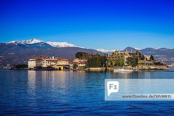 Eine Insel am Lago Maggiore  Italien